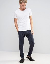 Esprit Joggers With Cuffed Ankle In Regular Fit Navy