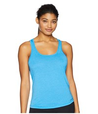 Brooks Distance Tank Top Heather Sky Sleeveless Gray