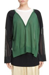 Toga Women's Mixed Media Pullover