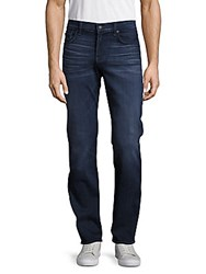 7 For All Mankind Slimmy Clean Straight Slim Fit Five Pocket Jeans Belfast