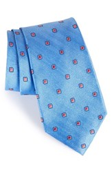 Nordstrom Men's Open Ground Silk Tie Light Blue