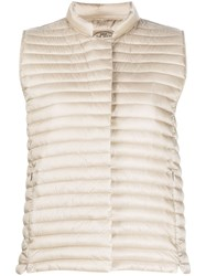 Save The Duck Iris Padded Gilet Neutrals