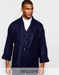 Reclaimed Vintage Relaxed Blazer Navy