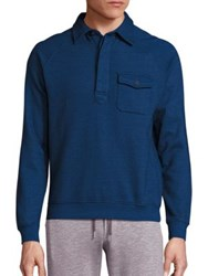 Orlebar Brown Mortimer Cotton Sweater Navy