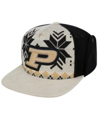 Top Of The World Purdue Boilermakers Christmas Sweater Strapback Cap