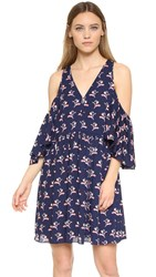Rebecca Minkoff Robbie Dress Indigo Multi