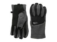 The North Face Men's Denali Etip Glove Charcoal Grey Heather Tnf Black Extreme Cold Weather Gloves