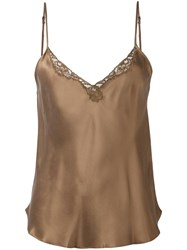Mes Demoiselles 'Sven' Blouse Brown