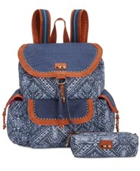 The Sak Pacifica Printed Flap Backpack A Macy's Exclusive Style Pacific Palisades