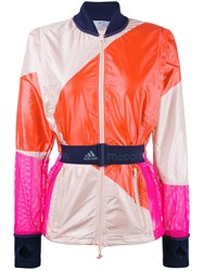Adidas By Stella Mccartney Belted Sports Jacket Red