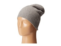Cole Haan Cashmere Beanie Light Grey Beanies Gray