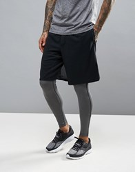 Saucony Running Cityside Shorts In Black Sa81309 Bk Black