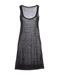 Crossley Short Dresses Black