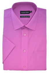 Double Two Short Sleeved Shirt Pink