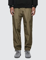 Helmut Lang Pull On Track Pants Green