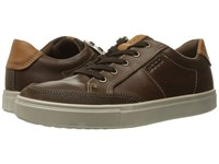Ecco Kyle Classic Sneaker Cocoa Brown Cocoa Brown Men's Lace Up Casual Shoes Bronze