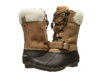 Sperry Saltwater Misty Brown Natural Fur Women's Rain Boots