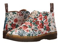 Dr. Martens Daytona Desert Boot Sand Secret Garden Twill Canvas Women's Lace Up Boots Multi