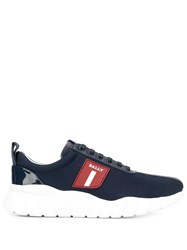 Bally Lo Top Sneakers Blue