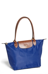 Longchamp 'Small Le Pliage' Shoulder Bag Blue