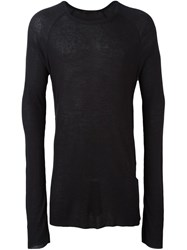 Haider Ackermann Long Jumper Black