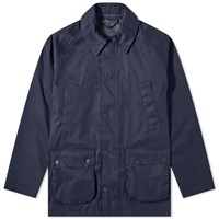 Barbour Waterproof Bedale Jacket White Label Blue