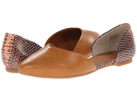 Bc Footwear Up All Night Tan Coral Exotic Women's Flat Shoes Brown