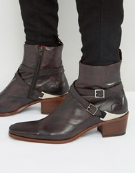 Jeffery West Manero Leather Jodphur Boots Brown