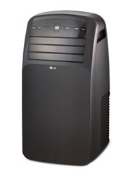 Lg Electronics 12000 Btu 115V Portable Air Conditioner With Lcd Remote Control Black