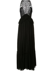 Givenchy Lace Body Gown Black