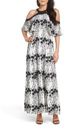 Taylor Dresses Women's Cold Shoulder Maxi Dress