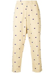 Champion Embroidered Logo Trousers Neutrals