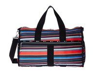 Le Sport Sac Large Weekender Ribbon Stripe Weekender Overnight Luggage Multi