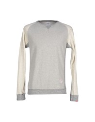 Bedwin And The Heartbreakers Topwear Sweatshirts Men Light Grey