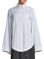 Aquilano Rimondi Oversized Striped Shirt Multi