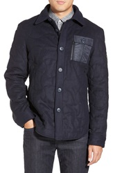 Spiewak 'M 65' Quilted Field Jacket Total Eclipse