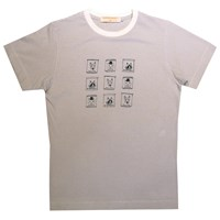 Supersweet X Moumi Crisp Pack Tee White Nude Neutrals