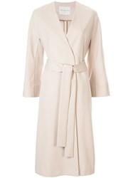 Tomorrowland Belted Single Breasted Coat 60
