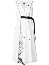 I'm Isola Marras Belted Dress White
