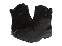 The North Face Chilkat Leather Tnf Black Tnf Black Men's Cold Weather Boots