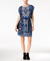 Inc International Concepts Printed Blouson Dress Only At Macy's Couture Paisley