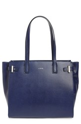 Lodis Jem Multifunction Leather Tote Blue Midnight