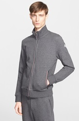 Moncler French Terry Track Jacket Heather Grey