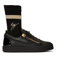 Giuseppe Zanotti Black May London Sock Sneakers