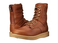 Georgia Boot Wedge 8 Lace Up Barracuda Gold Men's Work Lace Up Boots Brown