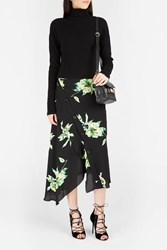 Proenza Schouler Women S Ruffled Print Boutique1 Black