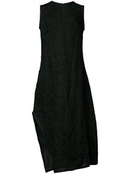 Narciso Rodriguez Crinkle Effect Dress Black