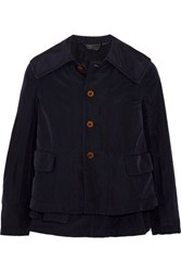 Comme Des Garcons Convertible Shell Jacket Navy