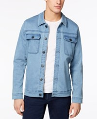 Ezekiel Men's Yarn Dyed Denim Jacket Medium Blue