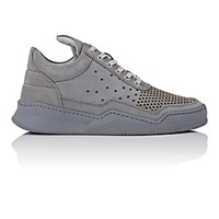 Filling Pieces Women's Perforated Low Top Sneakers Grey